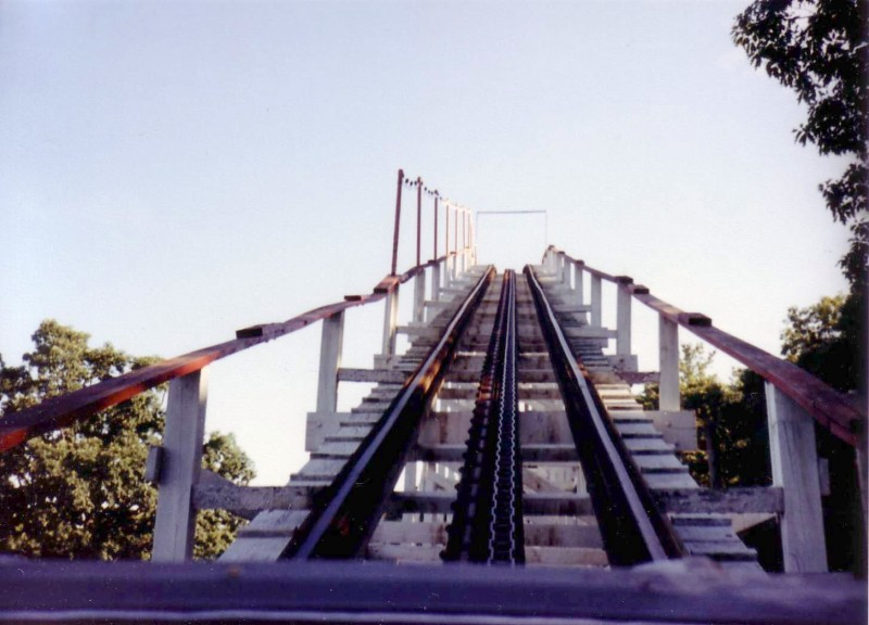 Lift hill in 1986