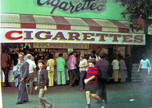 Cigarette Stand (from Brochure)