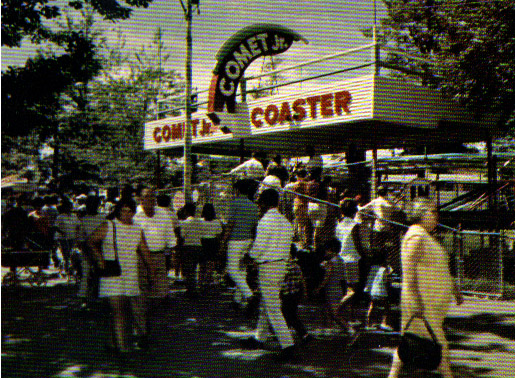 Comet Jr. Coaster. (from LP Brochure)