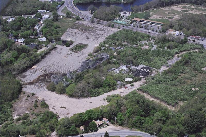 Aerial looking northwest. May 2004
