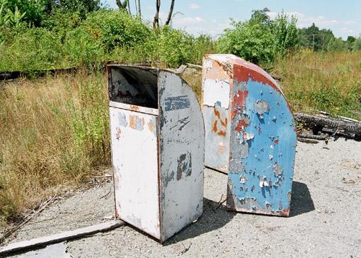 Trash Barrels 2002