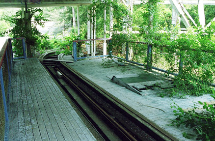 Waiting station for the Comet. 2002